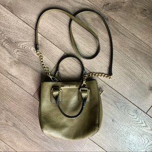 Steve Madden khaki green crossbody bag purse